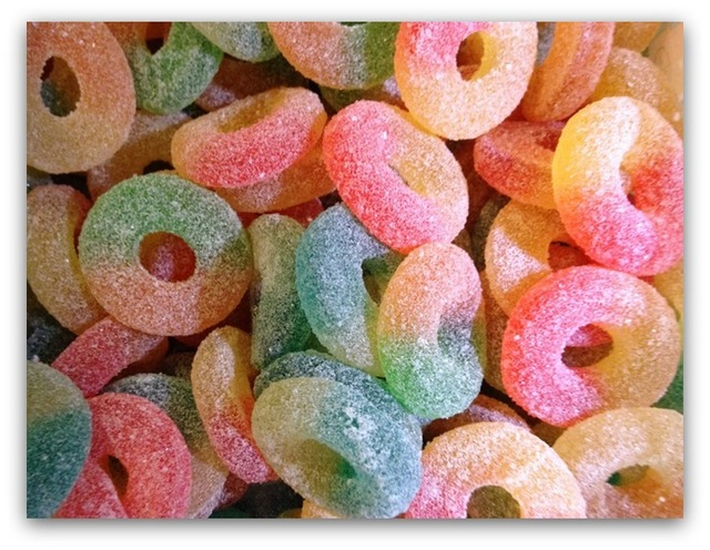 Fruity Fizzy Rings Large