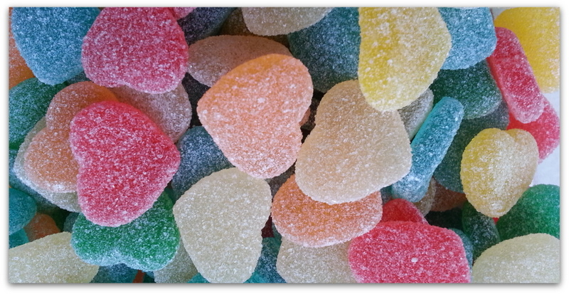 Fizzy Hearts Multicolour