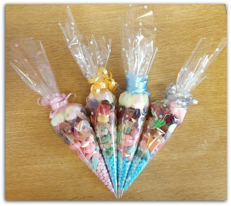Sweets Cones Blue