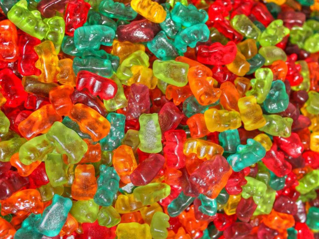 Multicolour Mini Jelly Gummy Bears